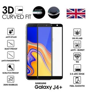 For-Samsung-Galaxy-J4-PLUS-2018-3D-Curved-Tempered-Glass-Screen-Protector-Black