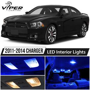 Image Is Loading 2011 2014 Dodge Charger Blue LED Interior Lights