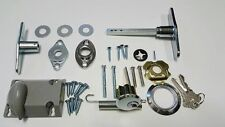 GARAGE DOOR T-HANDLE ASSEMBLY & KEYED DEAD BOLT CYLINDER LOCK KEY