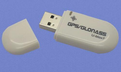 USB ANTENNA RECEIVER GMOUSE GPS GLONASS G MOUSE LAPTOP VEHICLE NAVIGATION NMEA