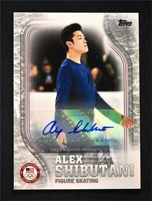2018 Topps US Winter Olympics Base #US-21 Alex Shibutani