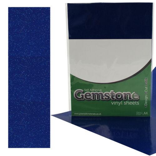 Vinilo Brillo Adhesivas A4 Hojas Compatible-Silhouette CAMEO de 3 con /& Retrato