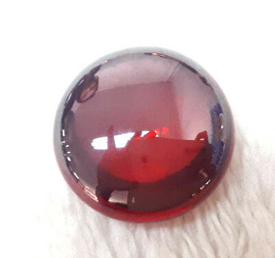 Super Power Deep red Naga Eye Round Shape CAVE Crystal Gem Amulet Bring Goodluck