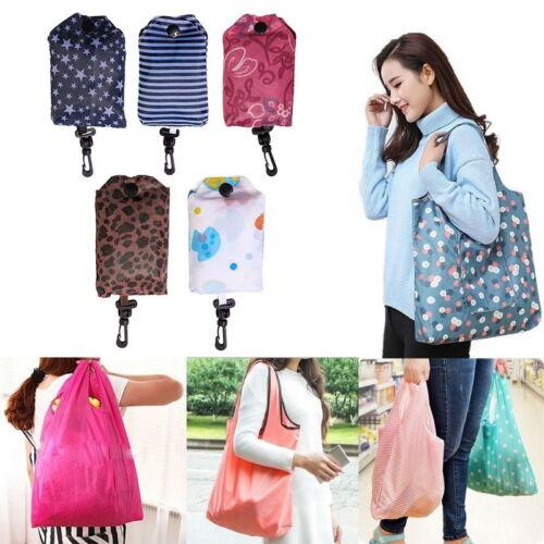 Women Lady Folding Reusable Storage Bags High-capacity Waterproof Shopping Bag