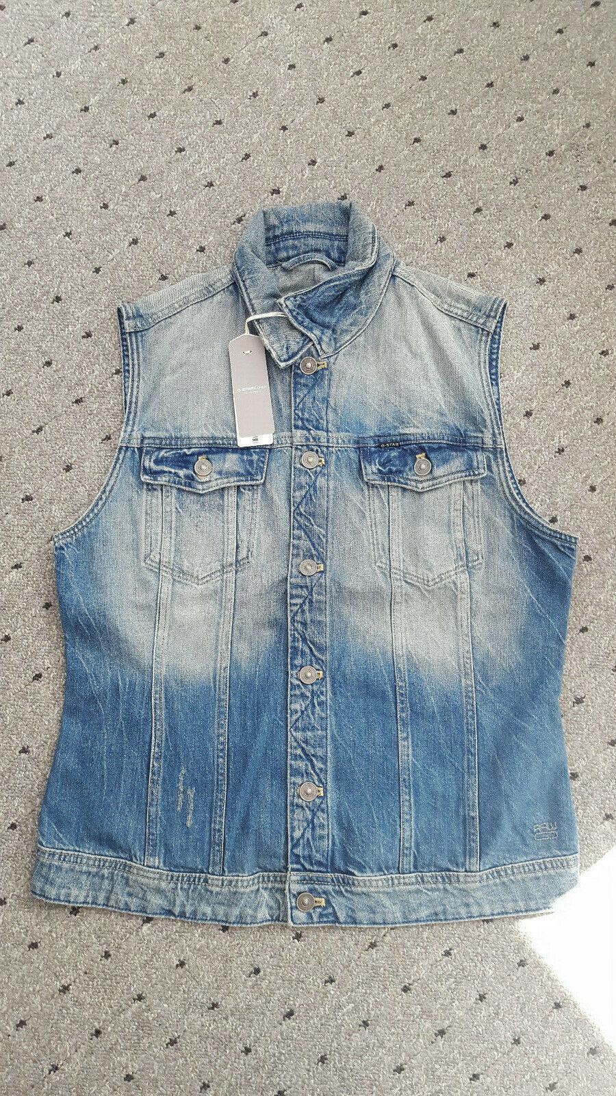 on sale 1d4a8 e4e3f G-Star RAW Damen Jeans Weste Größe XL NP | Qualitätskönigin ...