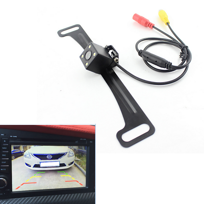 Full Range Of Specifications And Sizes Self-Conscious Waterproof Ip67 Car License Plate 170° Rearview Reverse Backup Parking Hd Camera Famous For High Quality Raw Materials And Great Variety Of Designs And Colors