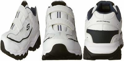 Skechers Herren Afterburn Strike Memory Foam Velcro Sneaker