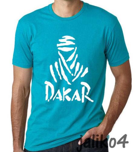 5XL Dakar Rally Logo T shirts Multi Colors and Sizes XS