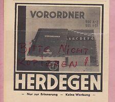 Berlín, publicidad 1941, proponemos. herdegen GmbH mano-carpeta