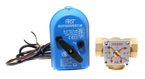 "Rotodivert Umschaltventil  Typ EMV 110-F3L DN25 1/"" IG"
