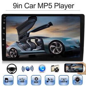 9-034-solo-1Din-coche-Radio-estereo-FM-MP5-Player-Bluetooth-HD-1080p-pantalla-Toque
