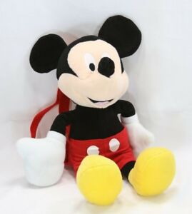 afac04190c8 Image is loading Mickey-Mouse-Plush-Doll-Backpack-Toy-Disney-16-