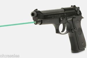 Details about LaserMax Guide Rod Green Laser Sight Beretta 92 96 M9 M9A1  Taurus PT - LMS-1441G