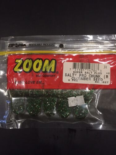 Zoom Better Than Salt Salty Pro Chunk Cucumber Seed  5 Pack
