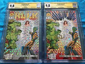 Incredible-Hulk-400-1st-and-2nd-Marvel-CGC-SS-9-8-Sig-by-P-David-G-Frank