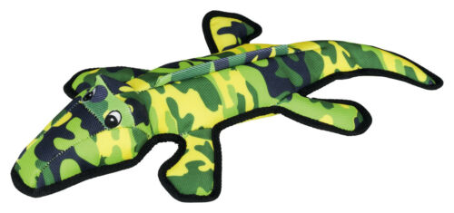 Strong Crocodile Polyester 2-ply polyester robust durable Squeaking Dog Toy 48cm