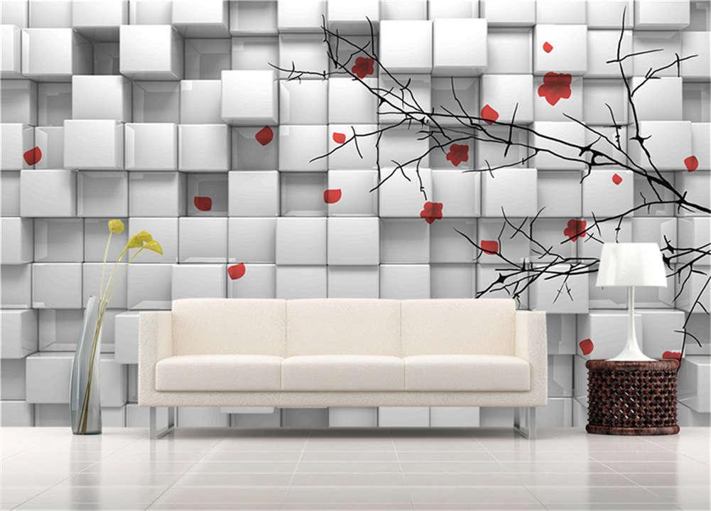 Habitual Full Grids 3D Full Wall Mural Photo Wallpaper Printing Home Kids Decor
