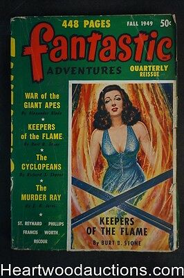 Fantastic Adventures Quarterly Fall 1949 Keepers of the Flame