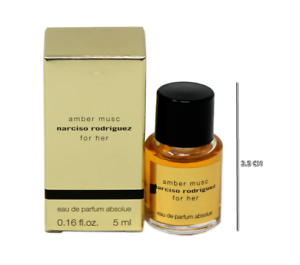Parfum 5ml Rodriguez For Amber Her Eau De Absolue Narciso Musc TKl1Jc3F