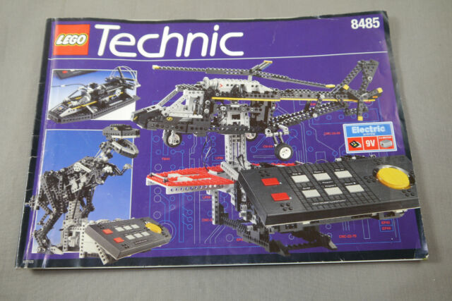 Lego Technic 8485 Assembly Instructions Manual Booklet ( Wrx)