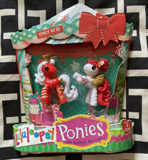 Target Exclusive Holiday Edition Christmas Lalaloopsy Mini Ponies #10 and #11
