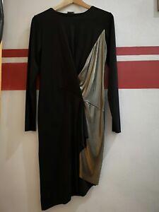 Details Farbe Zu GrM Kleid Zara Schwarzgold cFKJl1T3
