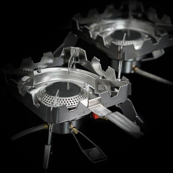 Ridgemonkey Ridge Mono Quad conectar Estufa estufas de gas de 2 Modelo Nuevo Kit Completo