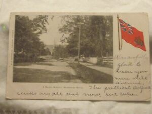 Postcard-A-Shady-Street-Annapolis-Royal-N-S-B-1026