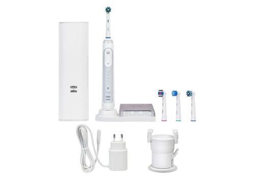 Braun Oral-B GENIUS 9000 Bianco Bluetooth Ricaricabile Spazzolino Elettrico NUOVO *