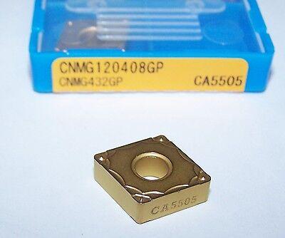 CNMG120408GP CA5505 10 CNMG 432 GP CA5505 KYOCERA INSERTS STEEL 1 BOX