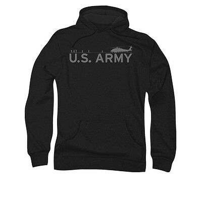 US ARMY HELICOPTER Licensed Adult Pullover Hooded Sweatshirt Hoodie SM-5XL