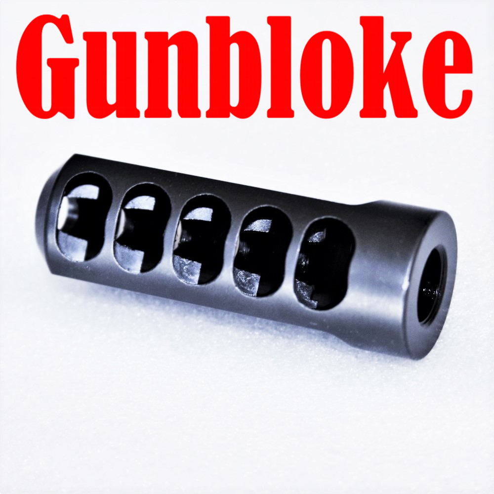 MUZZLE BRAKE -THE EXTERMINATOR 5/8x24 6.5mm .264 .264 .264 - Grendel, Creedmoor, 6.5-300 b5b69b