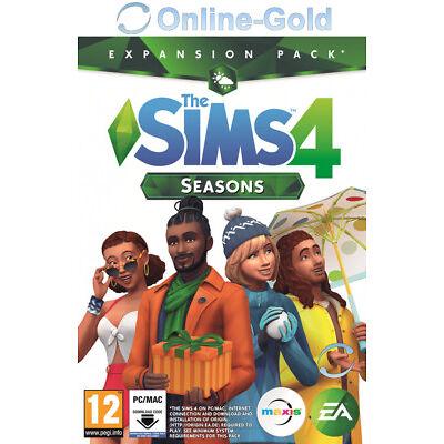 Los Sims 4 - Y Las Cuatro Estaciones - EA Origin Código - PC/MAC Expansión - ES