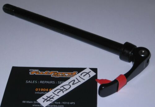 162 x 12MM 150MM FROM SHOULDER TO THREAD QUICK RELEASE AXLE BLACK #17D2117