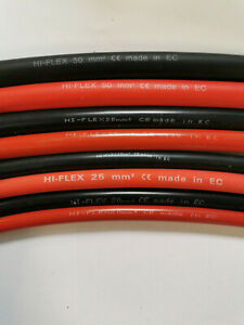 16mm 110Amp Battery Cable Starter Inverter 12v 24v Red or Black By The Meter