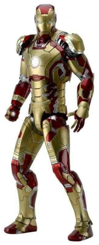 Marvel Iron Man 3 Mark 42 (XlIIe) 18 in  (environ 45.72 cm) 1 4 Scale Action Figure-NECA-Neuf  approvisionnement direct des fabricants