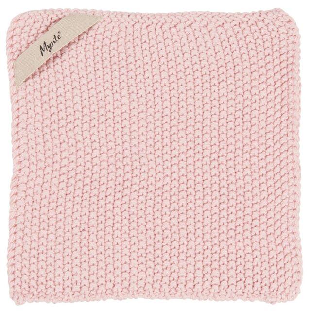 IB laursen mynte agarrador rosa Rose de punto cocina cocinar olla guantes