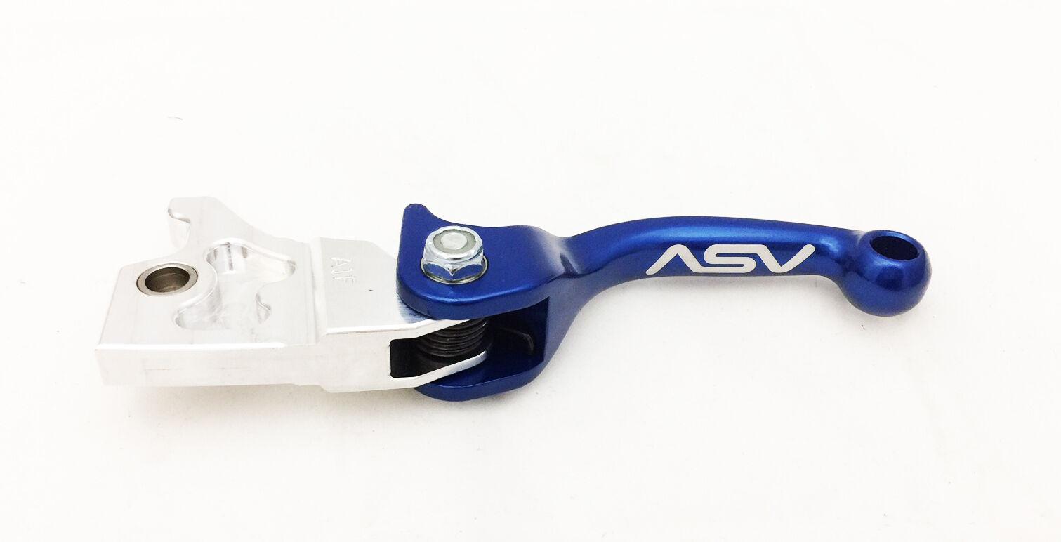 Asv F3 Shorty Unzerbrechlich Verstellbare Brems- Kupplungshebel Set Set Set Blau Raptor f7b7a5