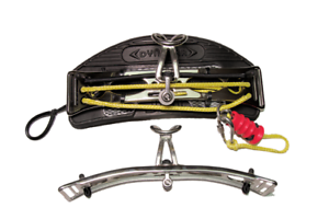 JAY Kiteboarding DYNABAR XT V9 Medium Trapez Bar mit Gleithaken Optionen