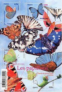 STAMP-TIMBRE-DE-FRANCE-N-F4498-NATURE-LES-PAPILLONS