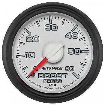 "Auto Meter Factory Match Mechanical Boost Gauge 8505 2-1//16/""  0-60 PSI Dodge"