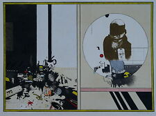 Ferroni Gianfranco, (1927-2001) - litografia Astratta contemporaneamente 1968