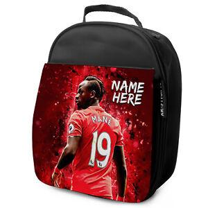 Mane-Almuerzo-Bolso-Liverpool-Escuela-Aislado-Chicos-Futbol-Personalizado-De-NL06