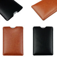 """Sleeve Pouch Bag Cover For 7/8/9/9.7/10"""" Universal PC Tablet Case PU Leather HOT"""