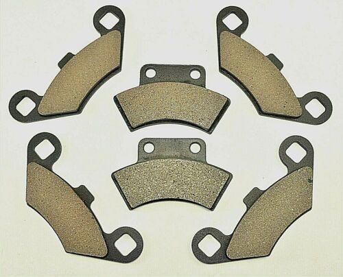 1995-98 POLARIS MAGNUM 425 2x4 /& 4x4 FRONT /& REAR BRAKE PAD SET