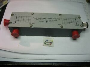 Hewlett-Packard-HP-766D-Dual-Directional-Coupler-940-1975MHz-N-Type-USED-Qty-1
