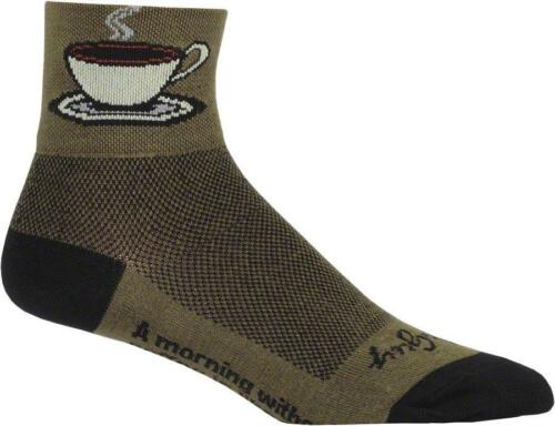 SockGuy Classic Java Sock Brown LG//XL