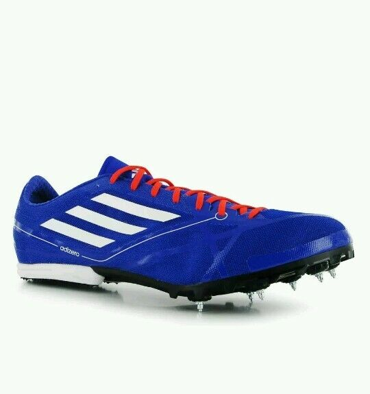 ADIDAS ADIZERO MD 2 Athletics Running Spikes Mens Trainers bluee eu 47