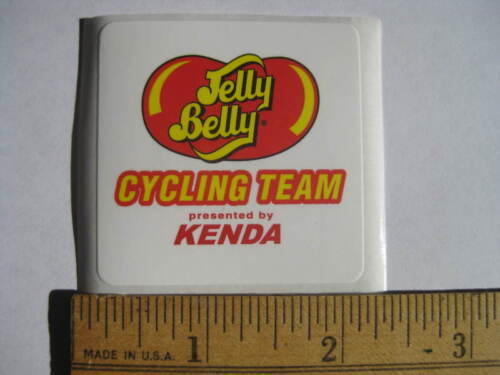 TEAM JELLY BELLY Road Bike Bicycle Frame Sticker Decal