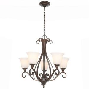Hampton-Bay-5-Light-Bronze-Chandelier-Lighting-Dining-Room-Foyer-Ceiling-Fixture
